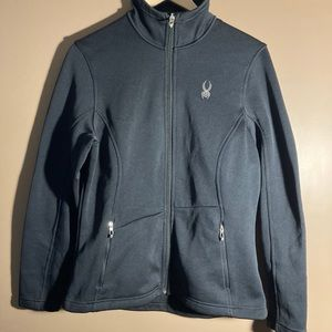 NWOT Spyder core sweater black full zip jacket